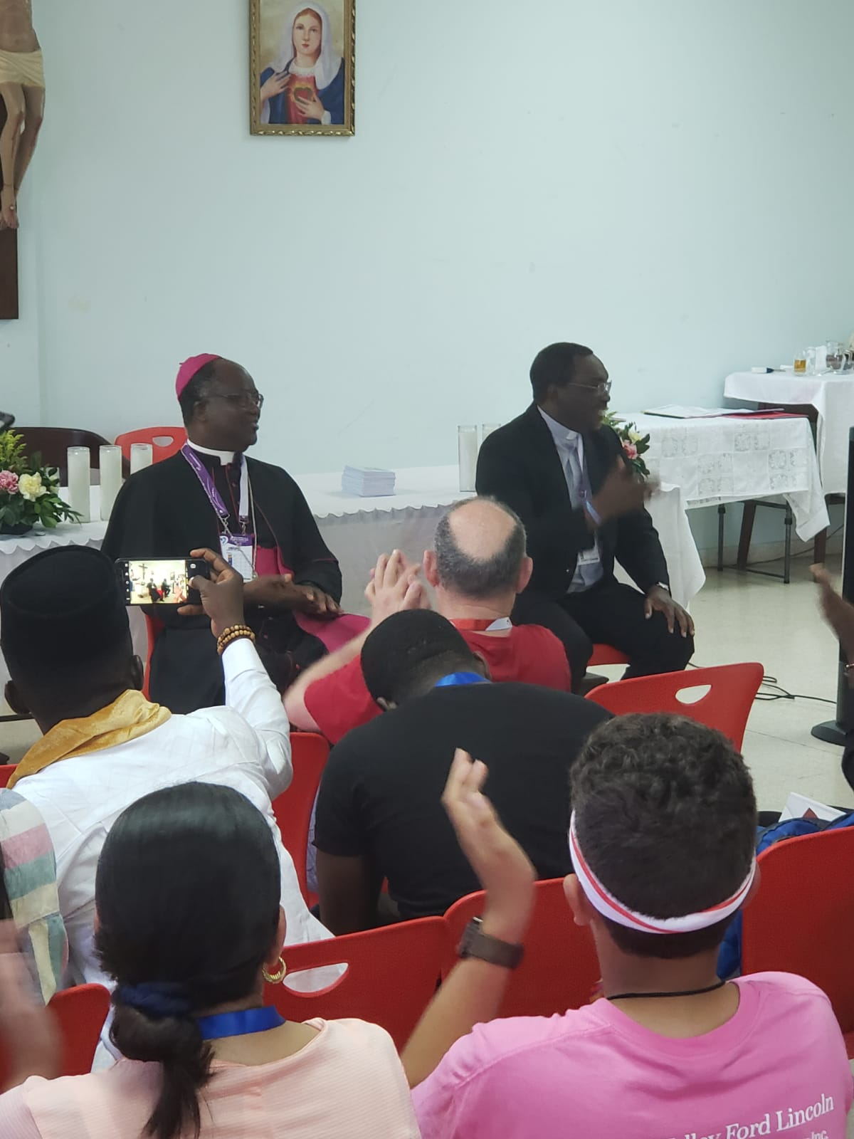 Bishops from Nigeria and Ghana