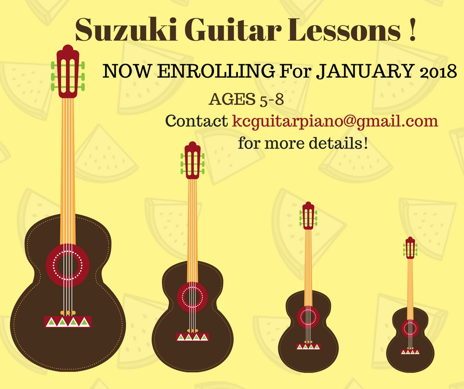 Latest news - SUZUKI GUITAR LESSONS 2018 NOW ENROLLING18TH DEC 2017    FANNY: PERFORMANCE IN HONG KONG! 3ND DEC 2017        TRIO SPIRITUS- PERFORMANCE AT CHILDREN MERCY HOSPITALEVERY WEDNESDAYS 6-9 PM   RYAN: PERFORMANCE IN CORVINO!   CHECK OUT THEIR CALENDAR!
