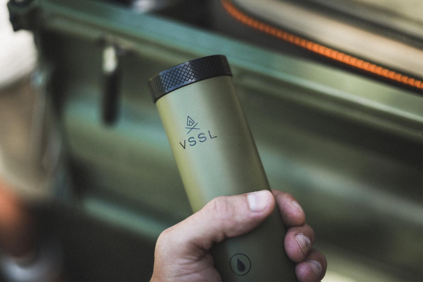 VSSL Flask on Modern Huntsman