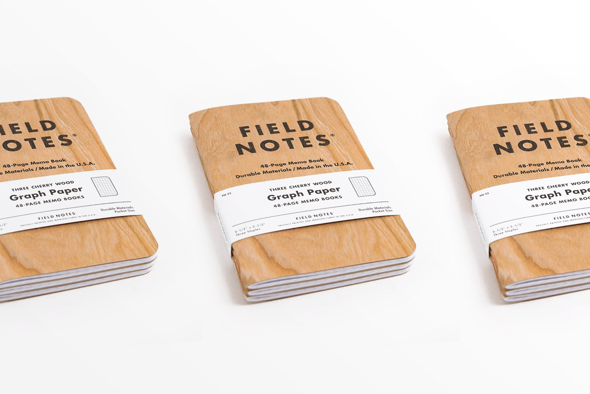 Field Notes Cherry Graph