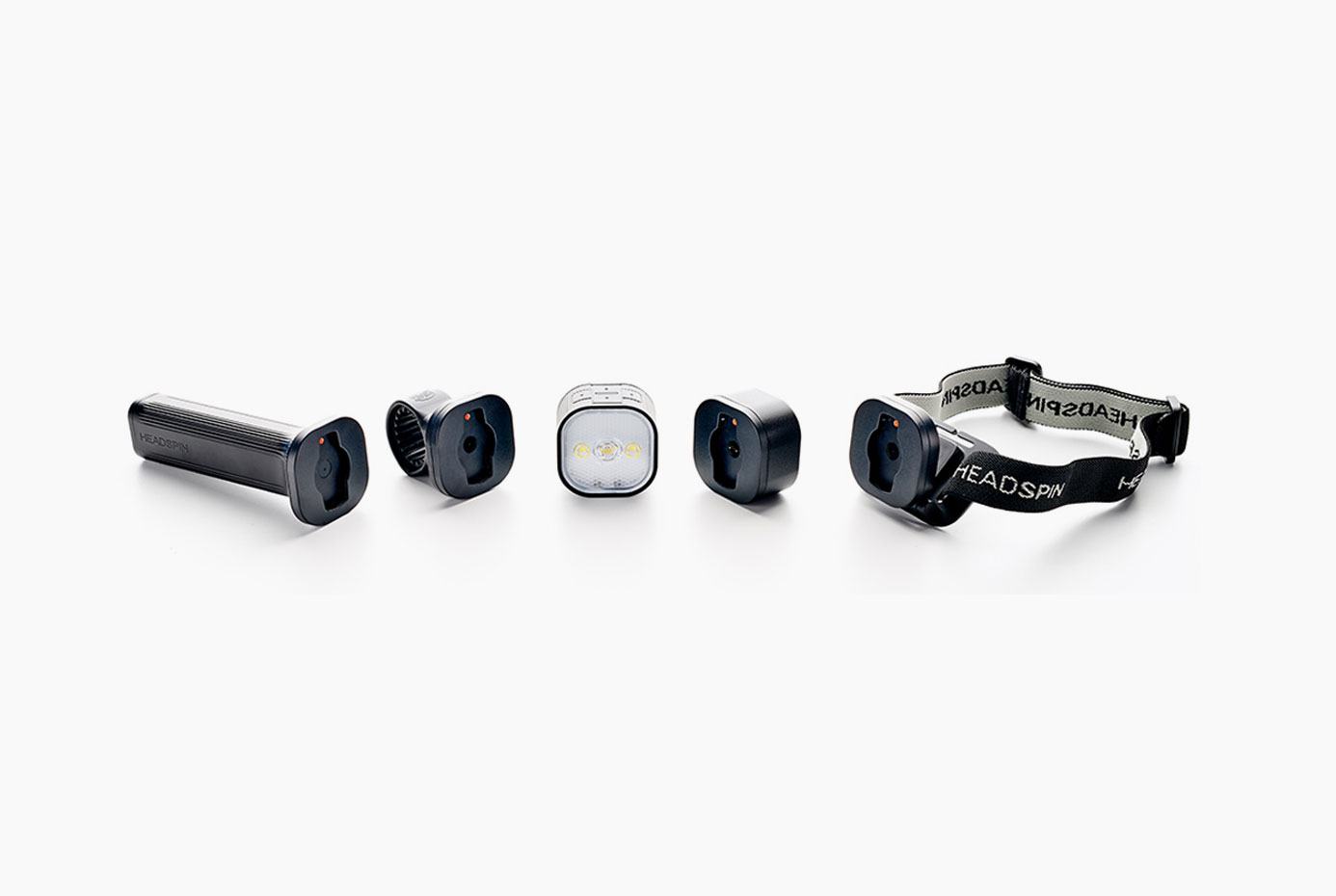 Headspin Convertible Lighting system - Outdoorsmen require versatility. Equipped with a magnetic attachment system called SPINDOCK, this revolutionary convertible lighting system can be used as a flashlight, headlamp, or even as a standalone light. Darkness is no longer a limitation.