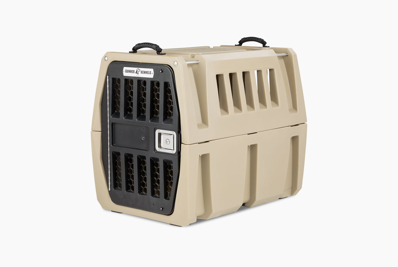 Gunner Kennels G1 Intermediate Kennel - Dad's best friend (besides you, of course) is entirely deserving of traveling in style and safety. Designed and made in the USA to be the most durable kennel that money can buy, no detail of the G1 has been overlooked. Why settle for less?