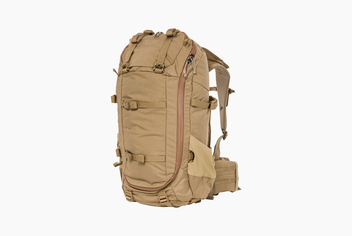 Mystery Ranch Sawtooth 45 Pack - Whether he's spending a night in the backcountry or packing out his harvest, the Sawtooth 45 is a dynamic-framed pack designed to carry everything needed for the unknown — no more, no less.