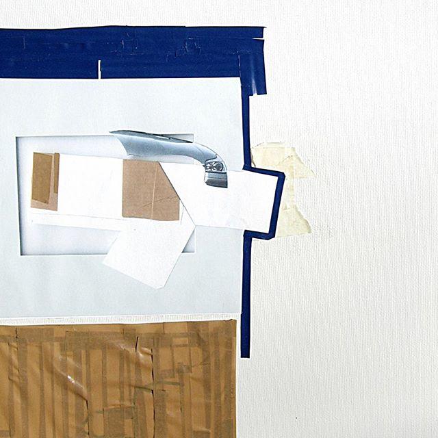 Arty Farty #4 /// #novemberbravo #collage #collageart #arty #artyfarty #art #johannijhoff #tape #tapeart #tapeartist