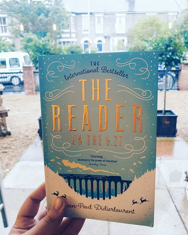 Perfect weather to get cozy with a coffee and a book! Our next Book Club pick is 'The Reader on the 6.27' by Jean-Paul Didierlaurent, as pictured. Make sure you finish it for our session on 9 November #APublicHome #goldentriangle