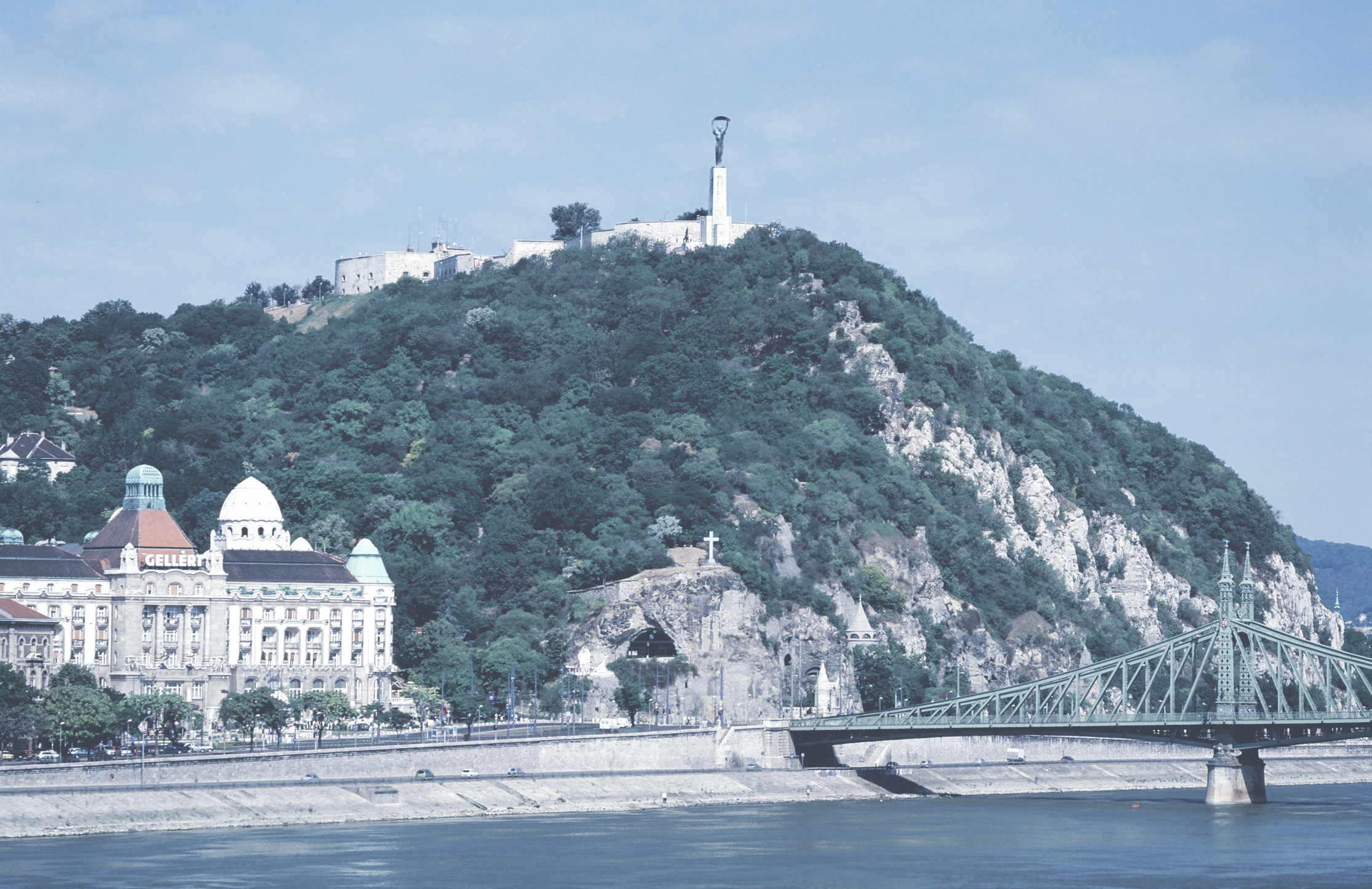 Gellért Hill / Citadella  This gemstone is one of the top tourist attractions of the city thanks to the magnificent panorama from the top of its cliffs facing the Danube.    Read more  ||  Map