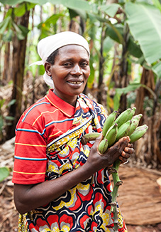 Banana Entrepreneur in Burundi