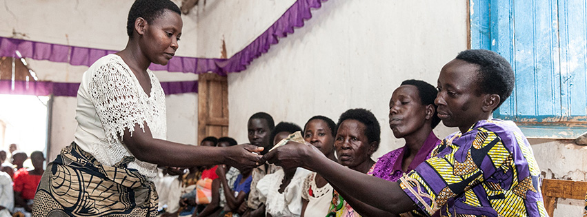Microfinance empowers the poor through community savings and loans