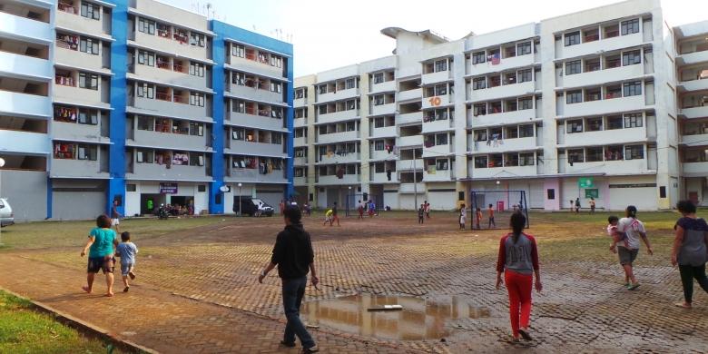 The Rusunawa Marunda housing development in Jakarta, Indonesia