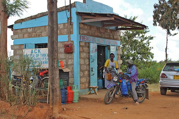Monica's Petrol Station in Kenya is growing