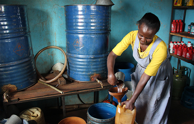 Business owners start small but learn to grow in central Kenya