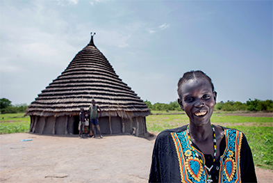 Building strong communities in South Sudan