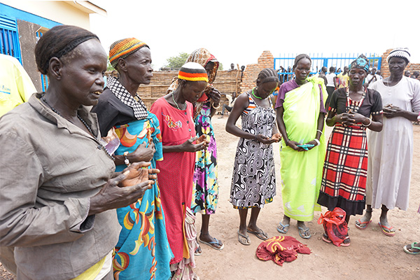 Community leaders pray for transformation in South Sudan