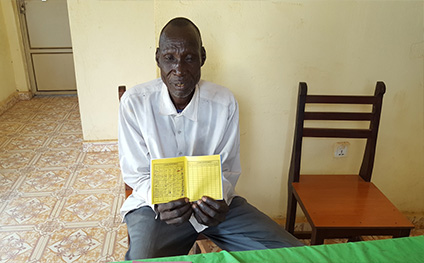 Savings books record savings in South Sudan