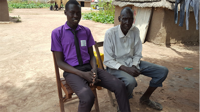 Funding an education in South Sudan requires hard work
