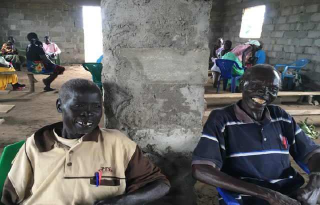 (Angelo and Pierensio, community facilitators in Gorom)