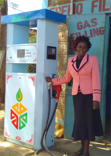 A new fuel pump for Monica's growing business
