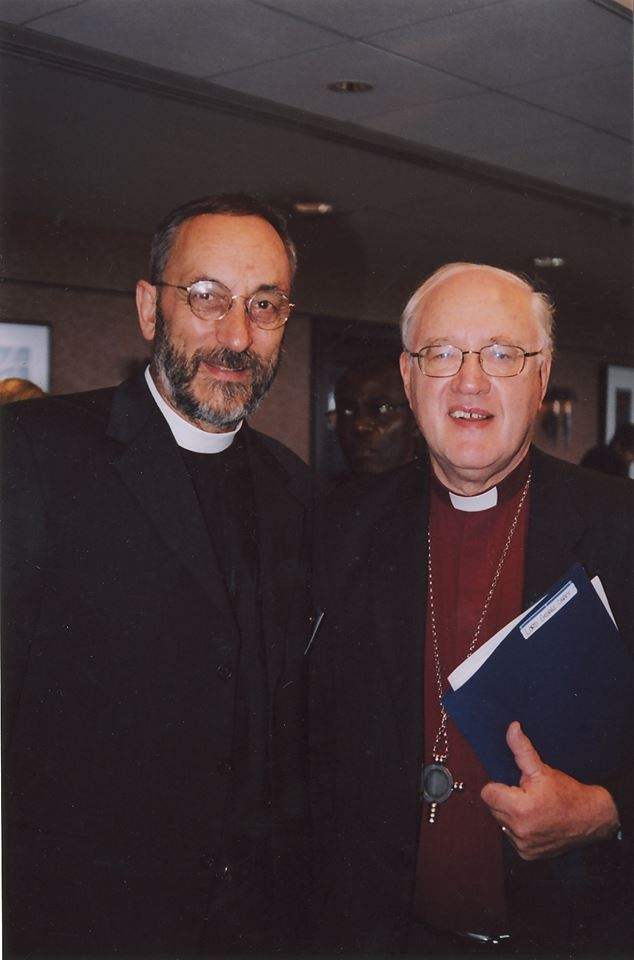 With George Carey, Archbishop of Canterbury
