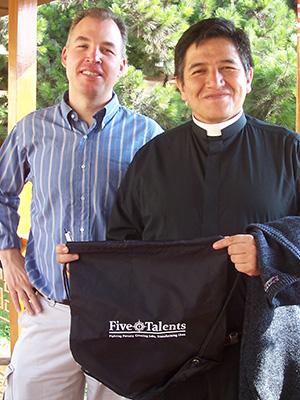 Craig Cole with Five Talents in Peru