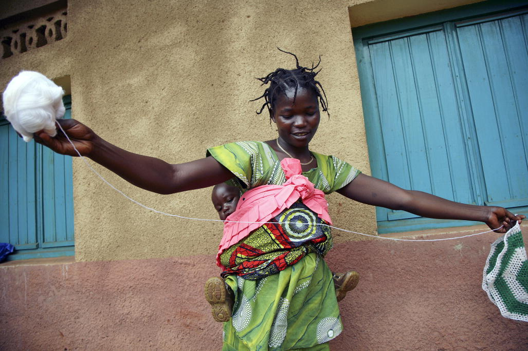 A Congolese entrepreneur. Photo/Martine Perret UN.