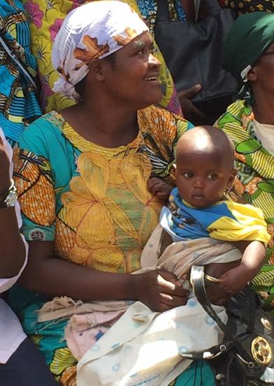 Moms benefit greatly from community savings in Burundi