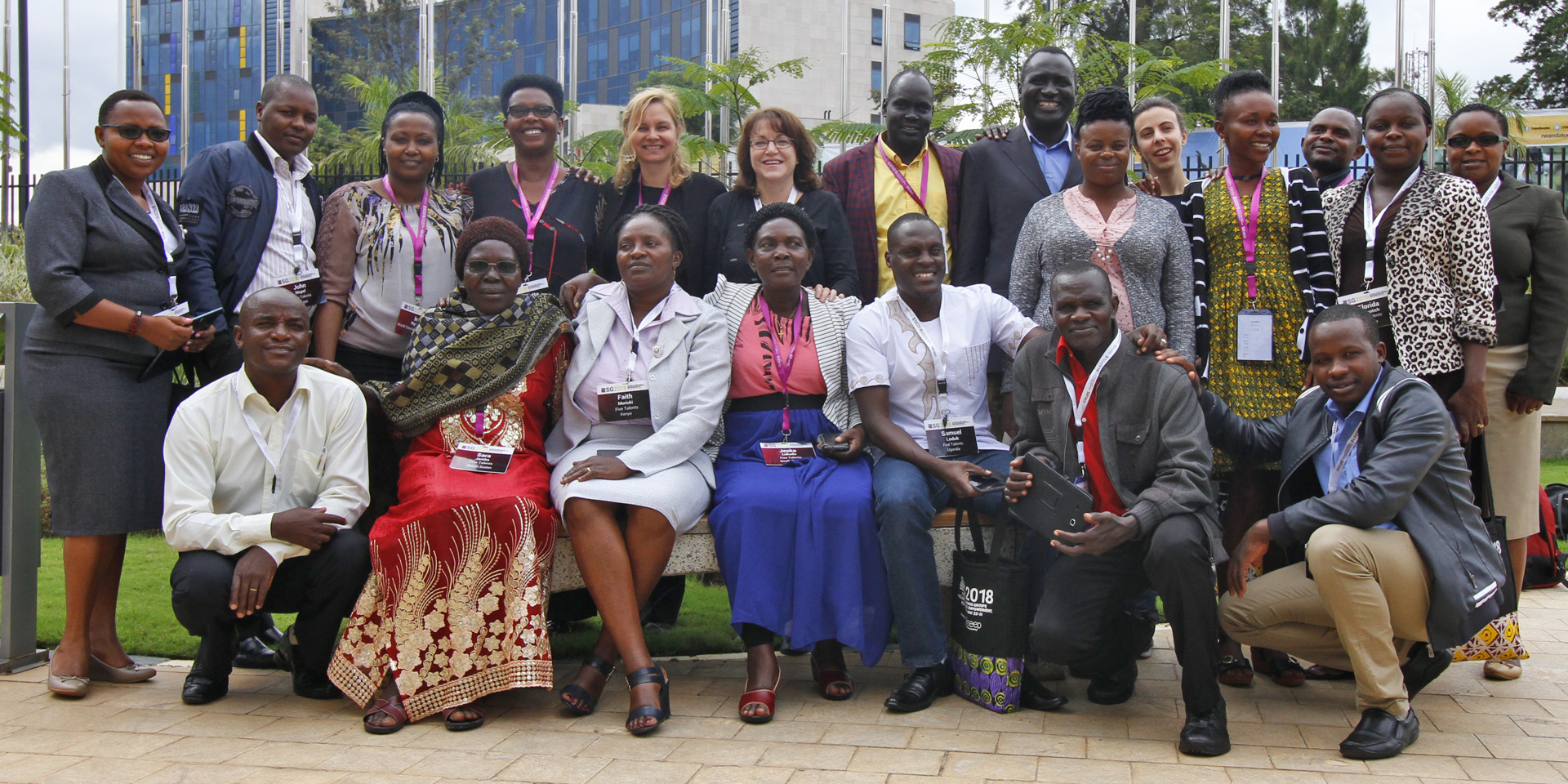 Five Talents program leaders and trainers from across Eastern Africa.