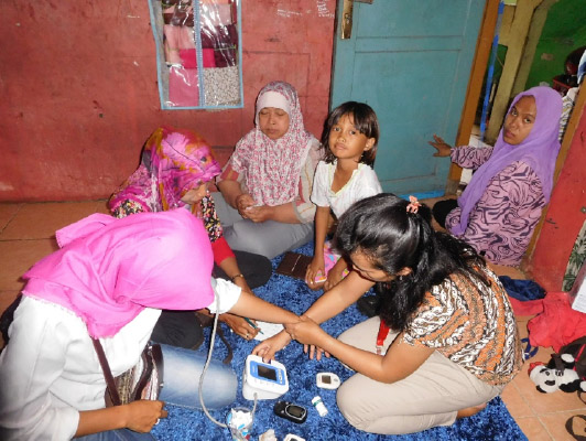 Medical Exam in Indonesia through Five Talents partners