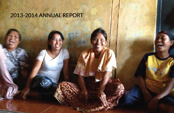 2013 to 2014 Annual Report