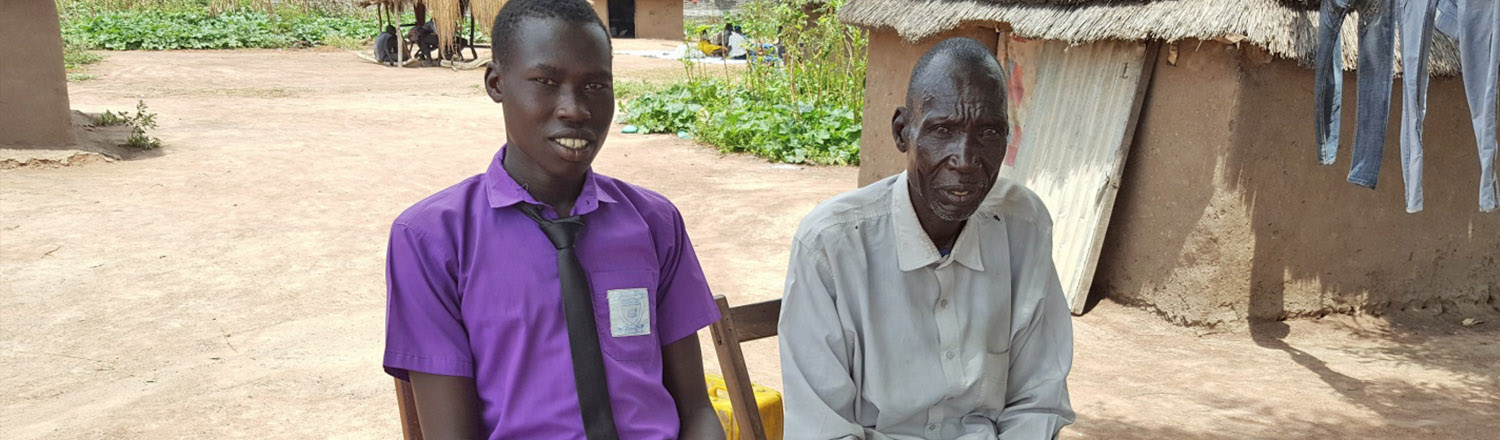 Celebrating Father's Day with an inspiring story from South Sudan.