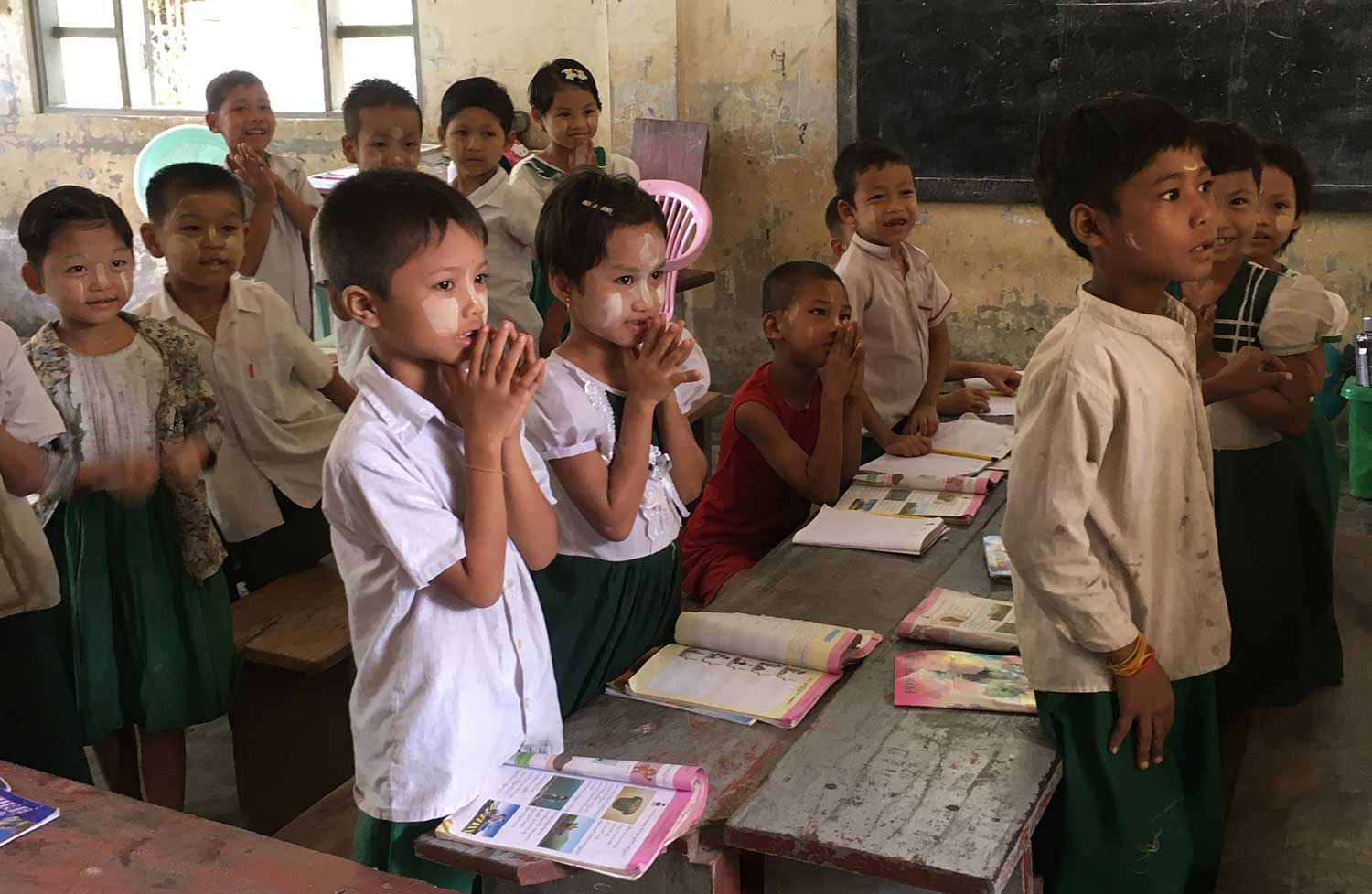 Families have more income and children go to school as a result of Five Talents' ministry.