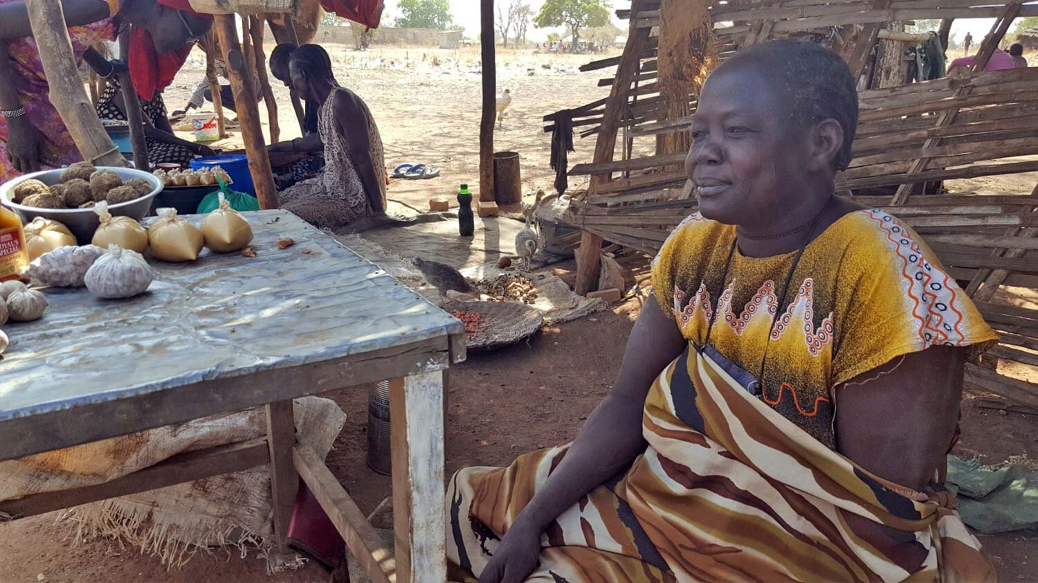 A grandmother's journey from poverty and vulnerability