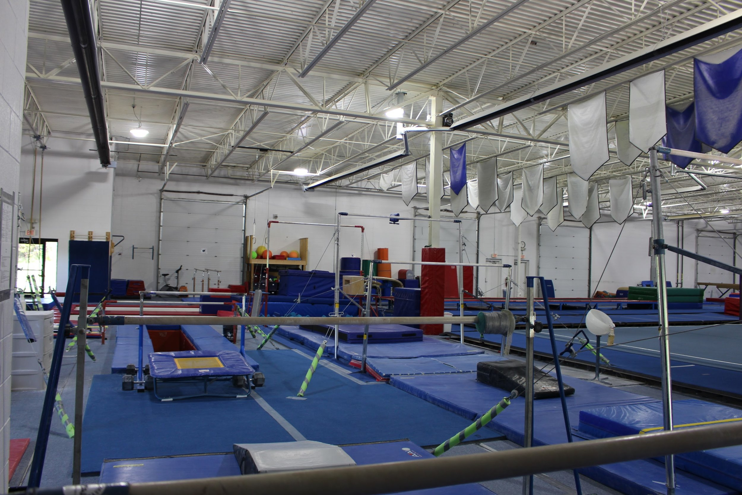 Open Gym - Open gym is a great time to practice movements outside of class and competitions. Instructors are present for supervision and safety.Learn More →