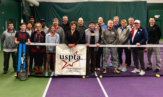 This past weekend we had the privilege of hosting a USPTA Coach's workshop!  #uspta #usptanewengland #tennis #newcanaan