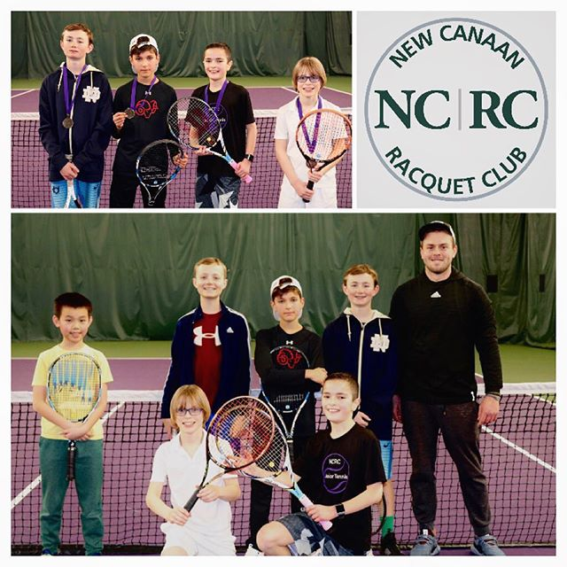 Boys 12 & U Saturday Jr. Tournament  Always good to see so many smiles on the tennis court  #tennis #juniortennis #uspta #ustatennis #newcanaan #newcanaanct #newcanaanmoms #halofitness