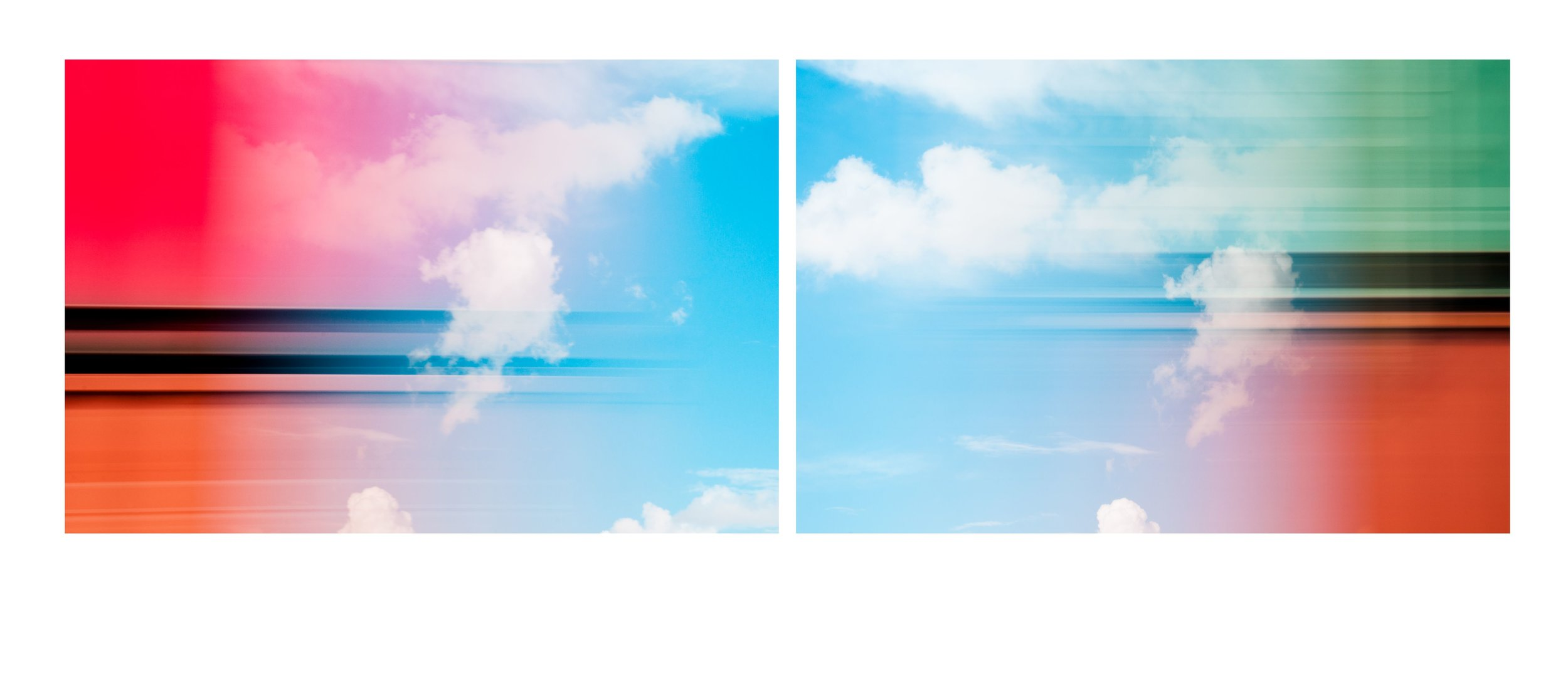 Cloud Diptych 7100