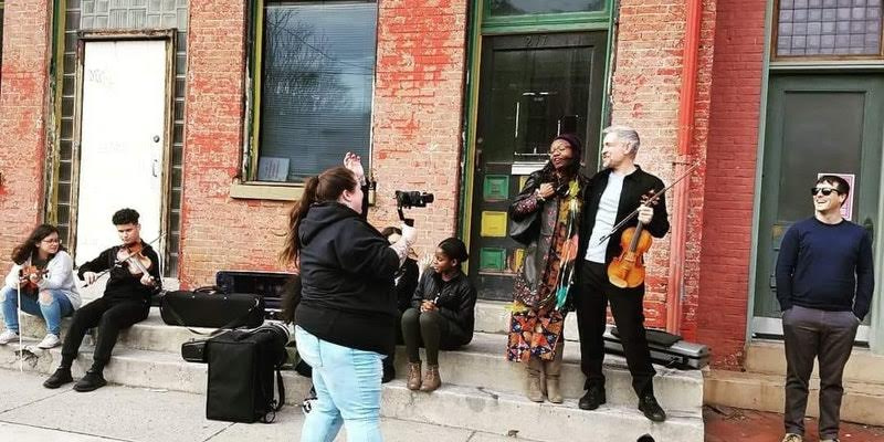 Click here to see:  Make america great not the land of hate again Music video  —Photo by Rose Luciano,