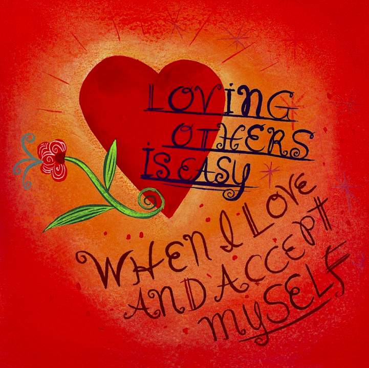 From  Louise Hay 's Power Thought Cards.
