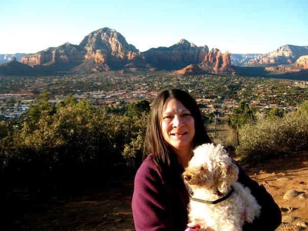 Sedona life with my canine companion - such a wonderful Life experience