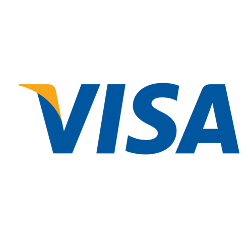 We accept Visa credit and debit cards