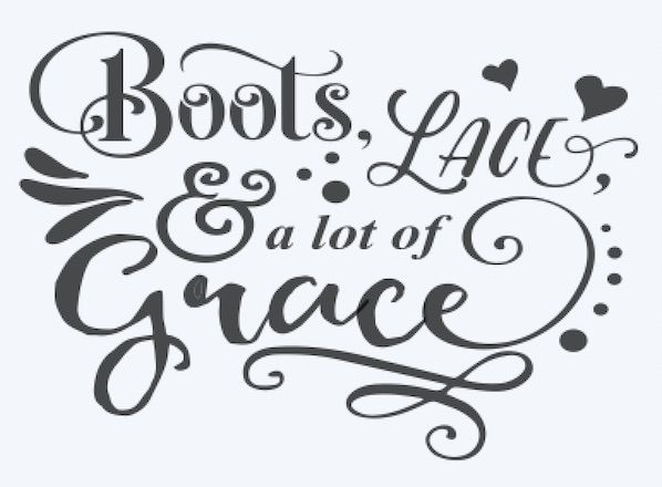 Copy of Boots Lace and a lot of Grace