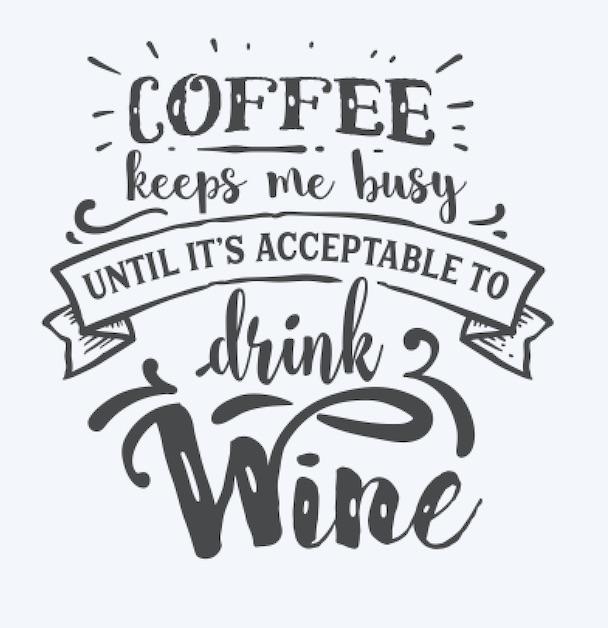 Copy of Coffee keeps me busy until..
