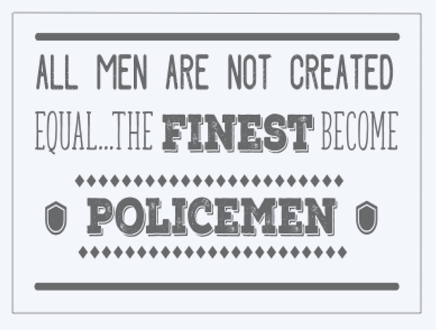 Copy of All men are not.. Policemen..