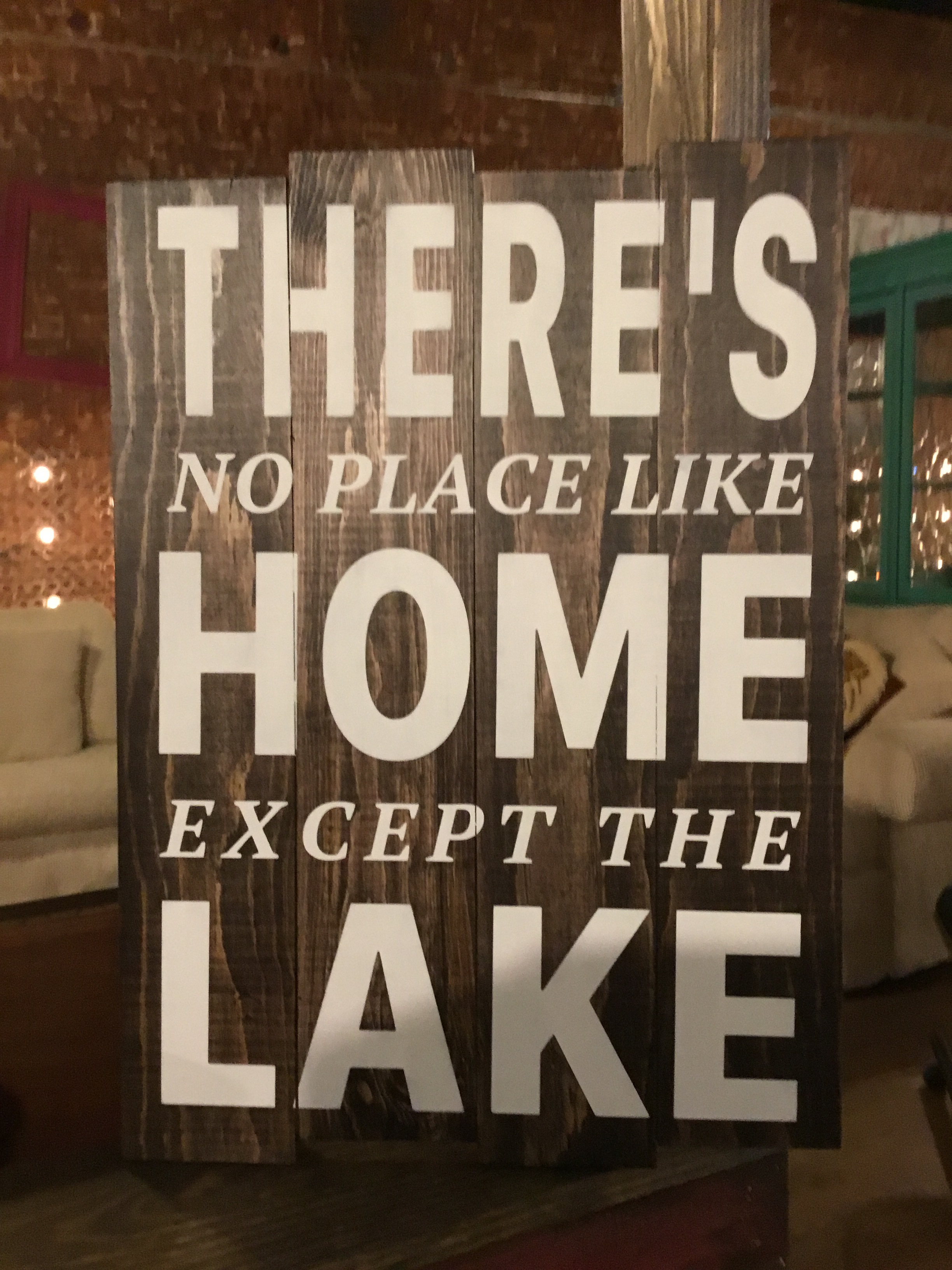 There's no place like home except...
