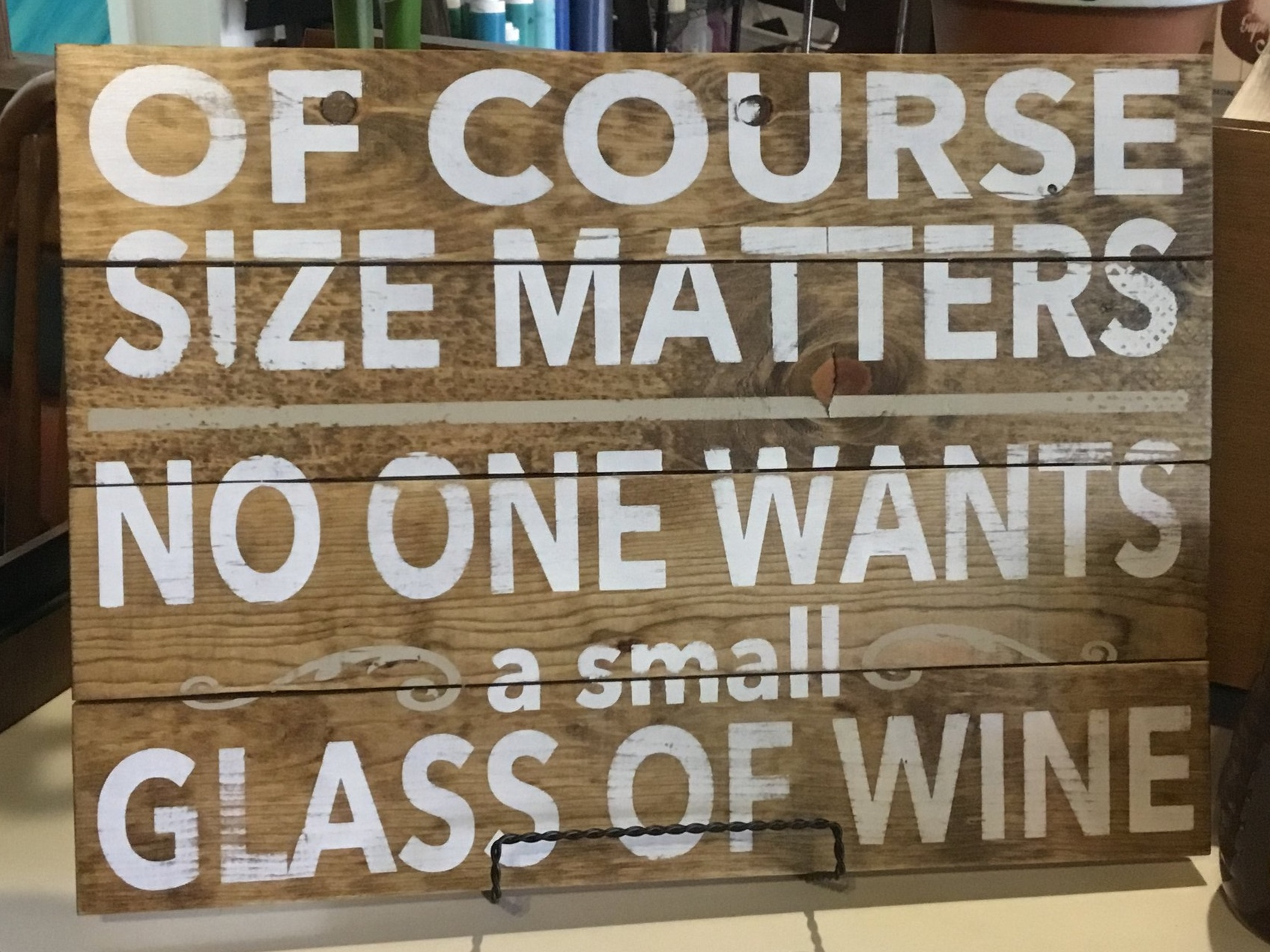 Of course size matters..wine