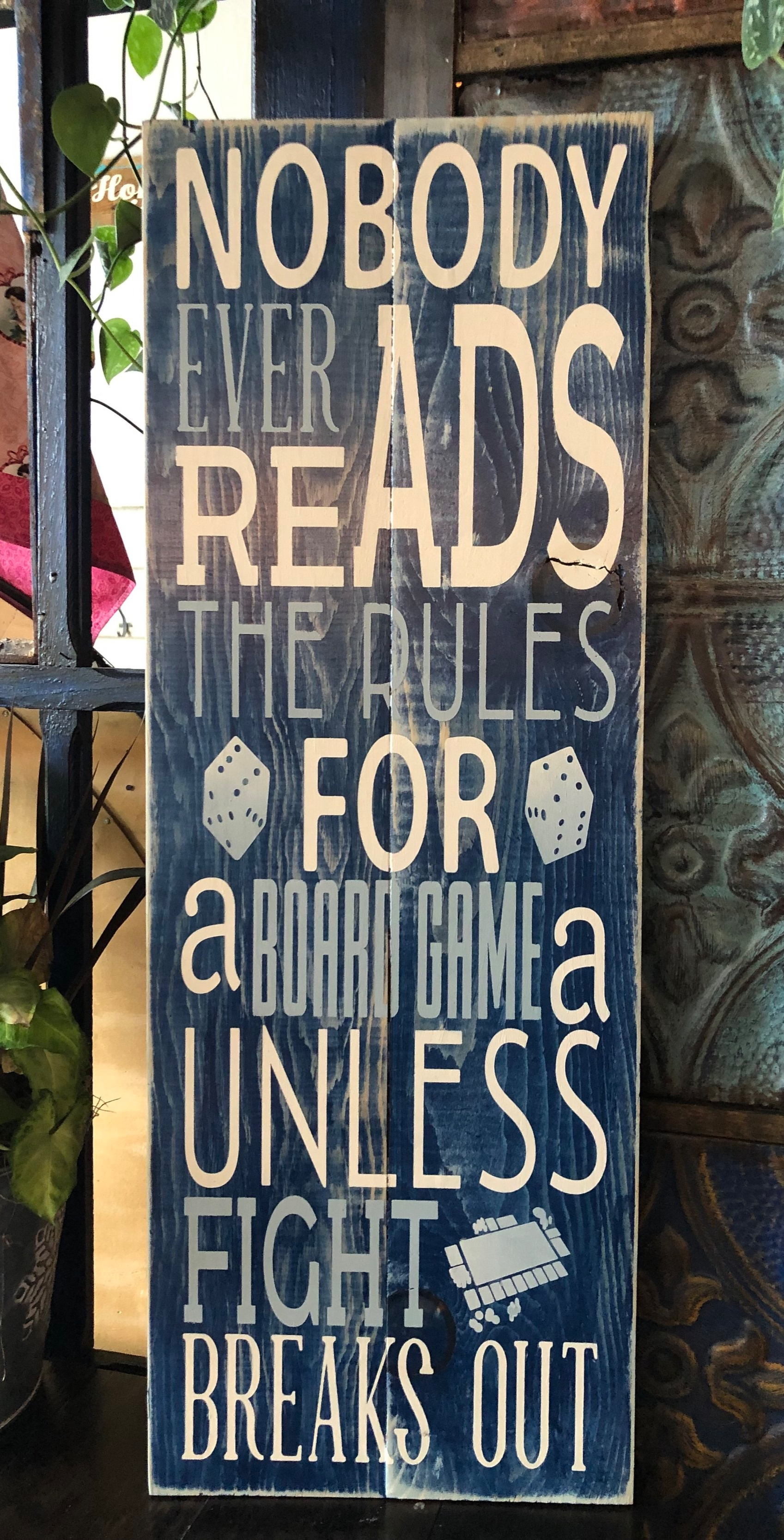 Nobody ever reads the rules..