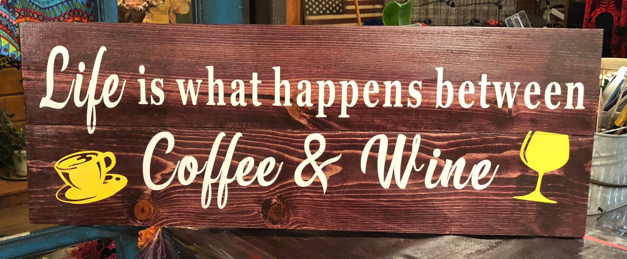 Life is what happens between Coffee..