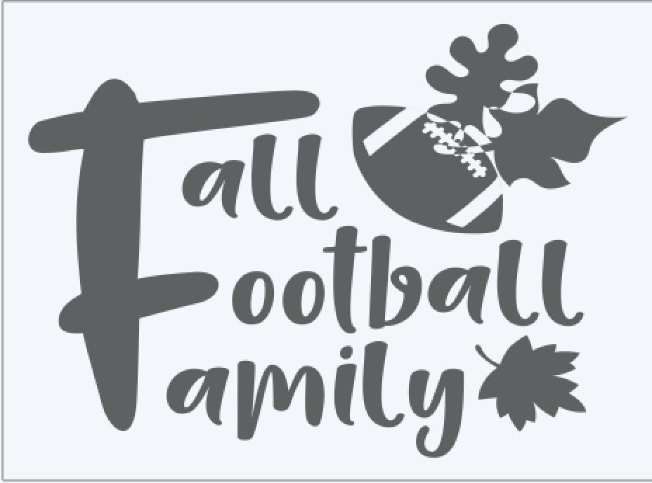 Fall Football Family