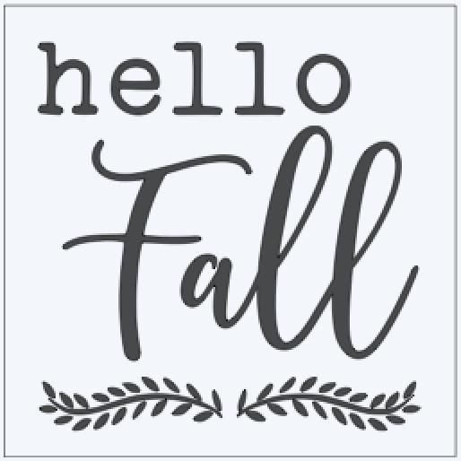 Hello Fall Square