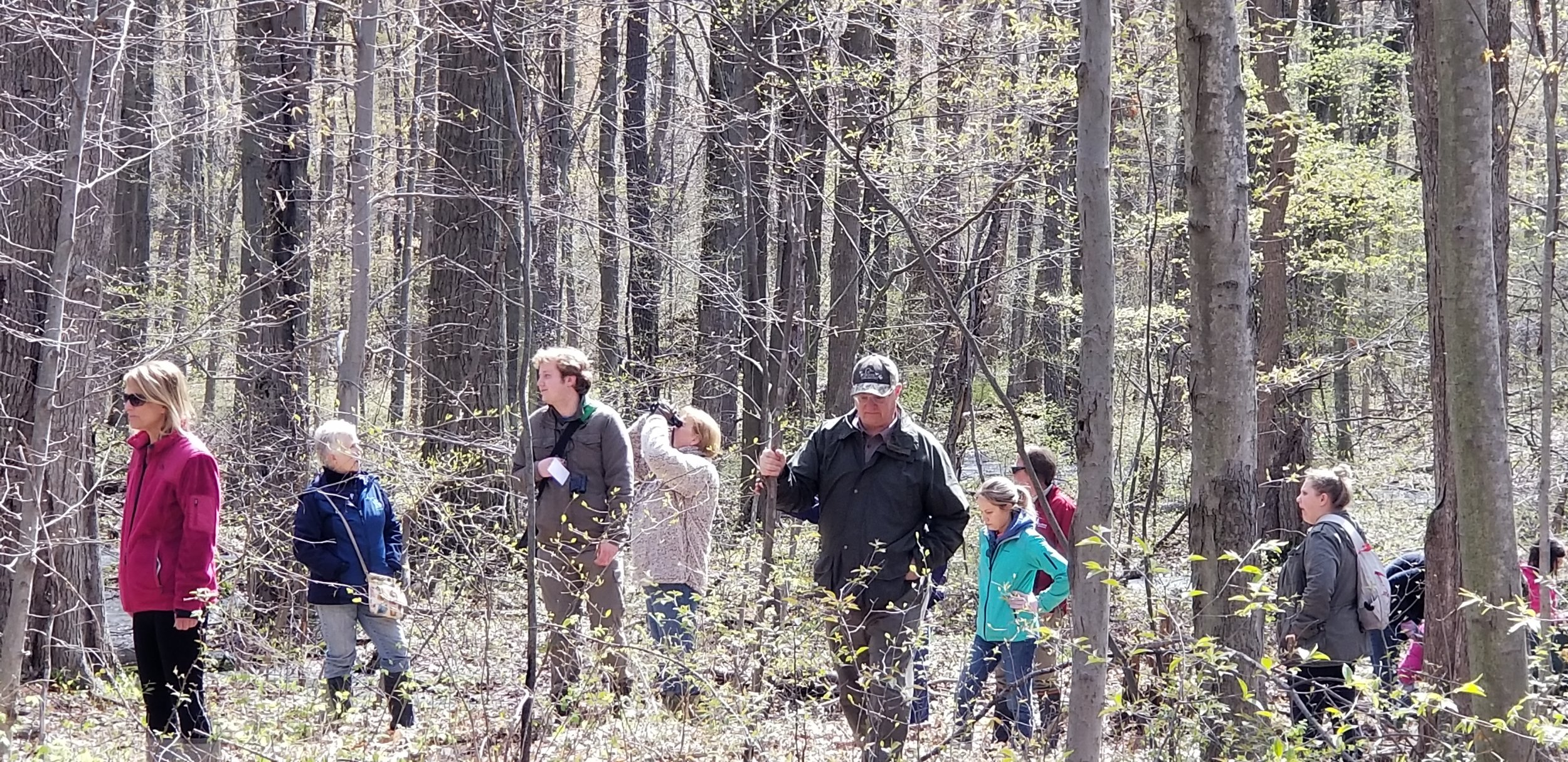 Anchor Bay Woods Preserve - Dedication Hike on May 4, 2019