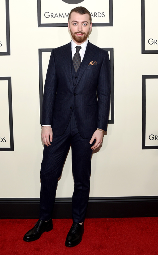 Sam Smith -Grammys 2016 Red Carpet Winners And Losers
